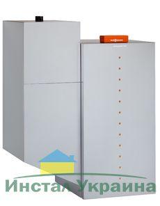 Твердотопливный пеллетный котел Viessmann Vitoligno 300-P 48 кВт c Vitotronic 200 (с системой всасывания)